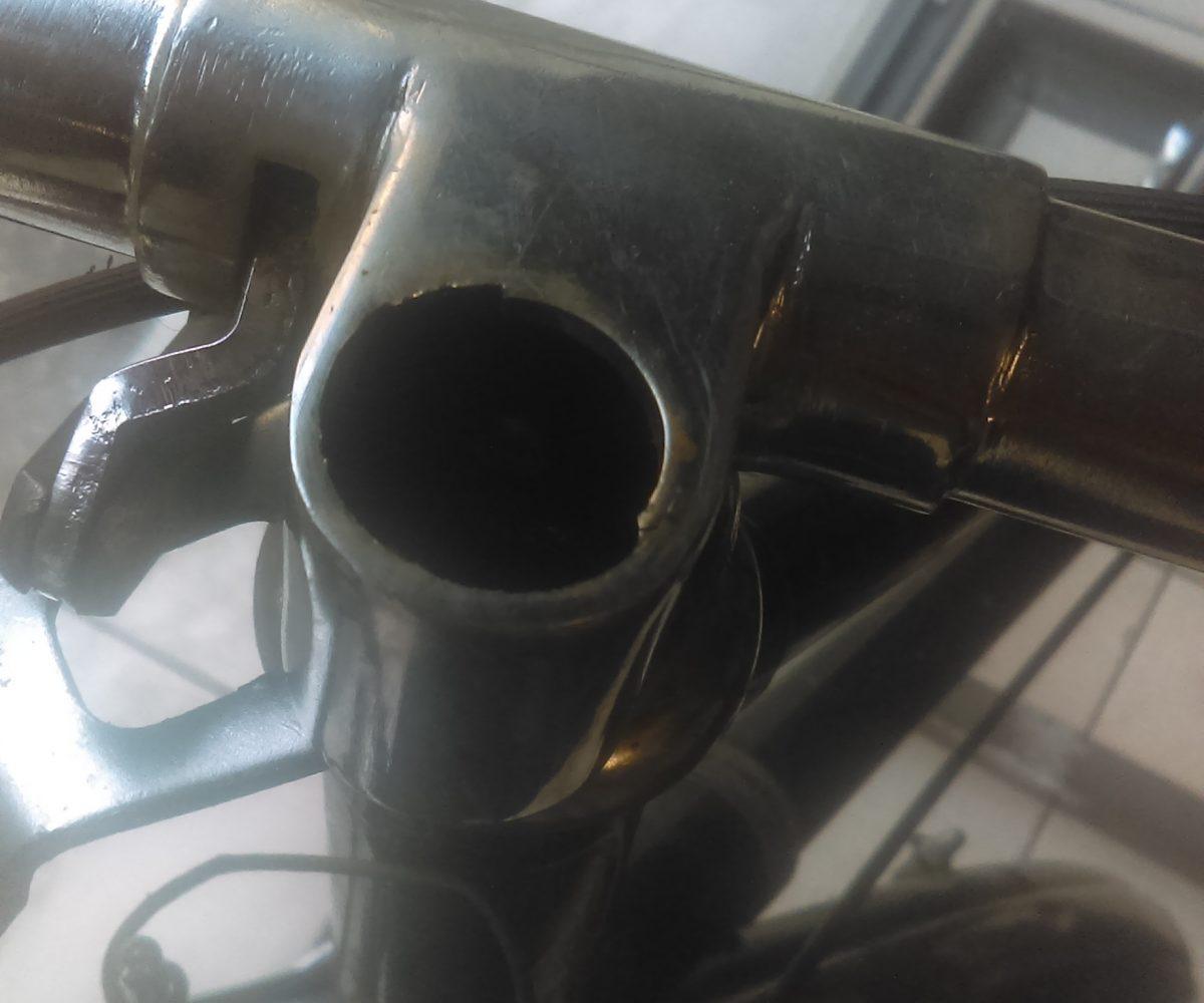 Soudure réparation vélo 2