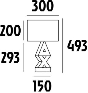 dimensions lampe belenos