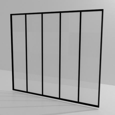 Modélisation verrière simple fond blanc 3600×3600