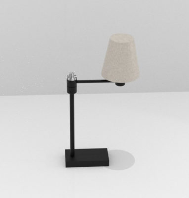test lampe au tour blender