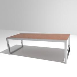 Table extérieure en aluminium sur mesure