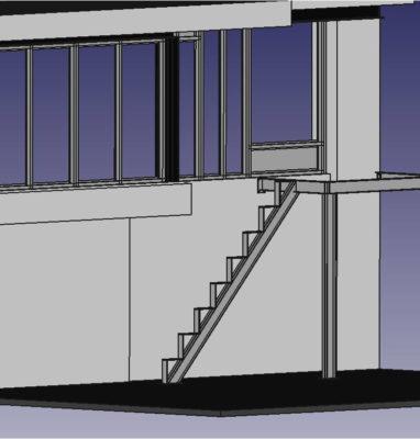 escaliers droits cobannos 2
