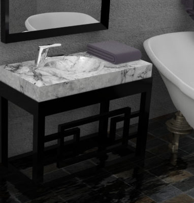 meuble sdb art deco cote hd