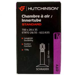 Chambre à air Hutchinson 700×28-35 shrader