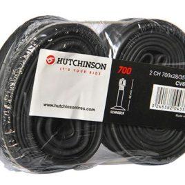 Chambre à air Hutchinson 700×28-35 shrader paire en vrac
